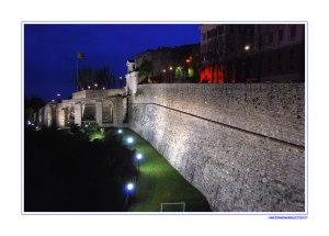Bergamo Mura Venete Di Notte