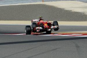 Raikkonen Ferrari Bahrain 2014 libere 1