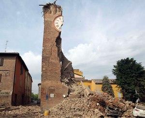 terremoto 2012 - Torre Finale Emilia