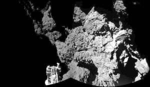 Autoscatto Philae - cometa 67P - Churyumov-Gerasimenko [ESA]