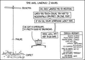 xkcd for Rosetta