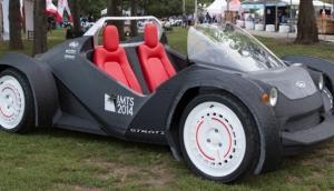 Automobile stampata in 3D